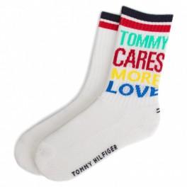 Tommy Hilfiger vaikiškos kojinės 2 poros baltos 27-30